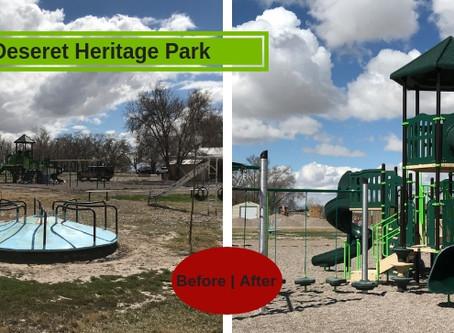 Deseret Heritage Park In Delta Utah Gets Big Playground Update