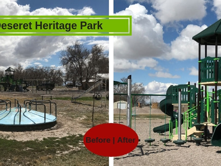 Deseret Heritage Park In Delta Utah Gets Big Playground Update