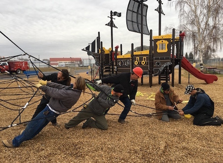 Join In The Fun! Grand Opening of Pirate Island Playground