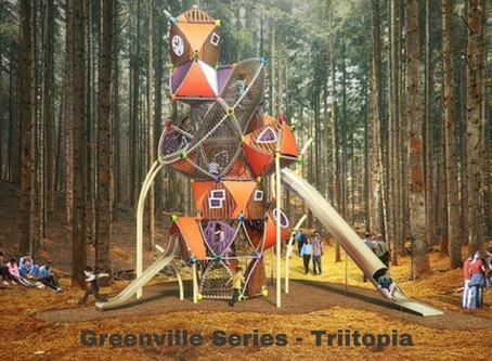 Magical, Twisted, Crazy! Triitopia by Berliner Play Equipment