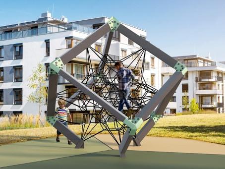 Where Playground Equipment and Art Collide