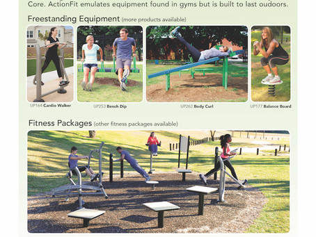 Getting Fit Is Fun With An Outdoor Fitness Gym Right In Your Park