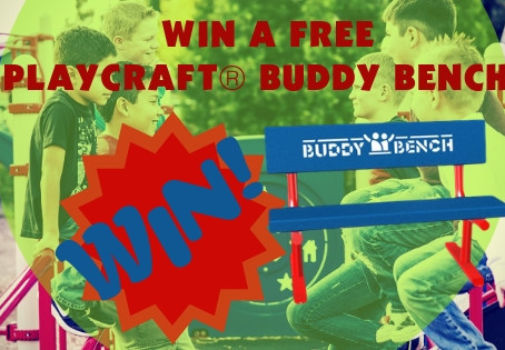 Announcing the Buddy Bench 2019 Giveaway