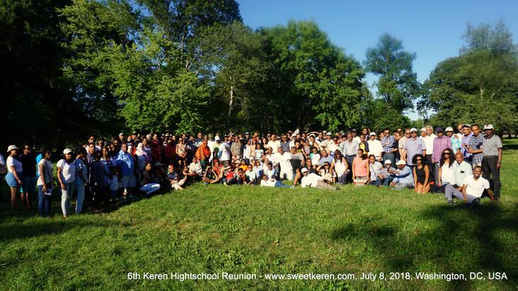 6th Keren Hightschool Reunion, July 2018