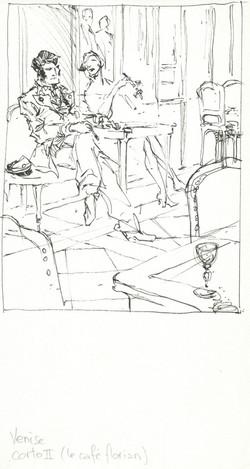 Corto II (le café Florian)