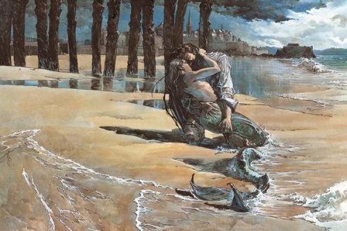 Guillaume Sorel affiche Quai des bulles Sirène Sillon Rempart
