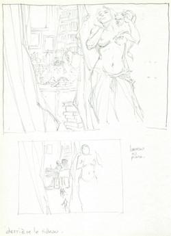 Derrière le rideau