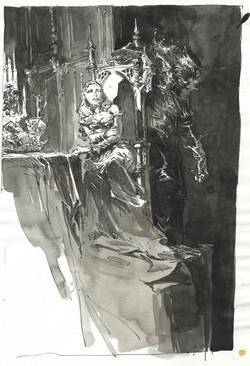 La belle et la bête (chandelier)