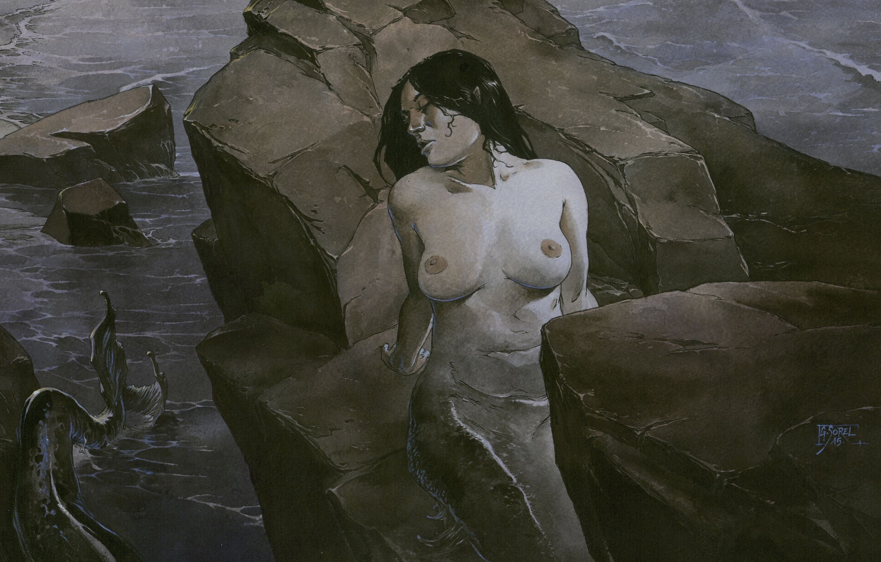 La sirène amoureuse, extrait