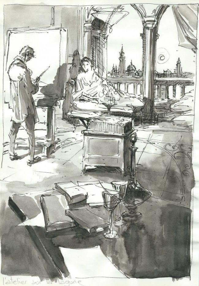 L'atelier sur la lagune