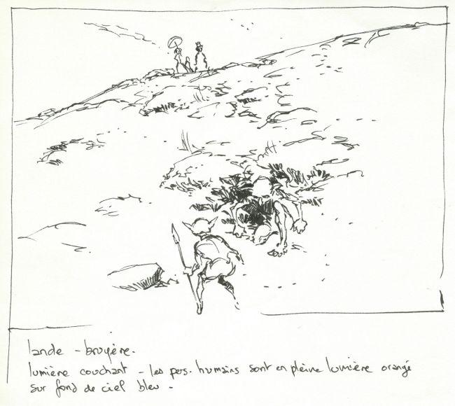 Promenade dans la lande
