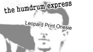 Leopard Print Onesie