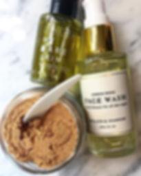 Organic Face Wash - Olia and Co