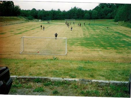 Vereinsjahr 1995 | Bau Rasenplatz