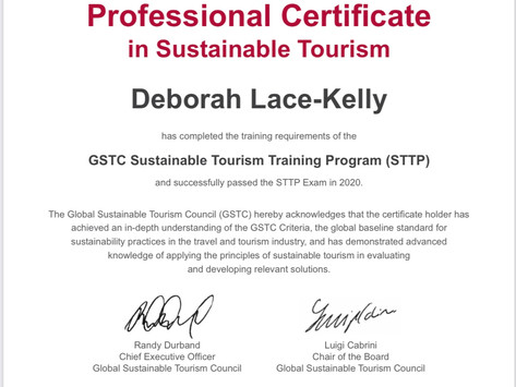 Professional Certification in Sustainable Tourism