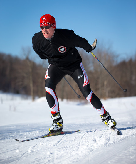 Total Dick Also Nordic Skier