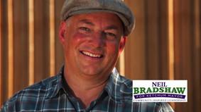 Mayor-Elect Neil Bradshaw Promises 'Community Based Community'