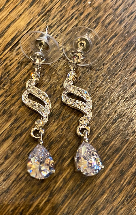 Eye catching Rhinestone Drop Earrings