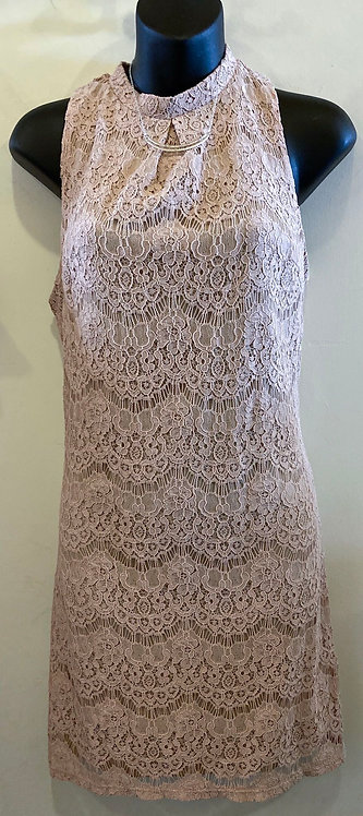 NWT Fire Light Pink Lace Dress - Size S