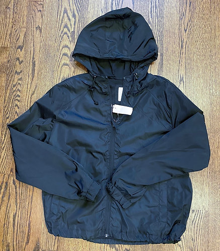 NWT So Black Pullover Light Weight Jacket w/Hood - Size L