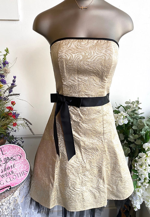 SALE Jessica McClintock Strapless Dress - Size 3