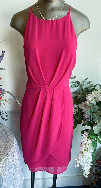 NWT Lulus Fuchia Dress - Size XL