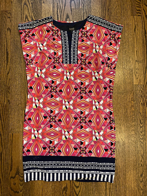 Laundry Print Dress - Size M