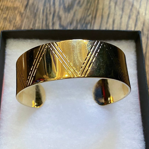 Brooks York Gold Cuff Bracelet