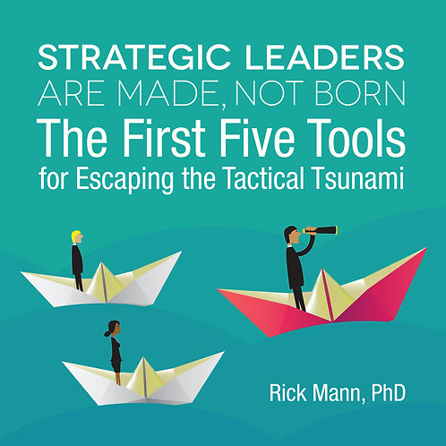 10 copies of Strategic Leaders are Made, Not Born (Print Edition)