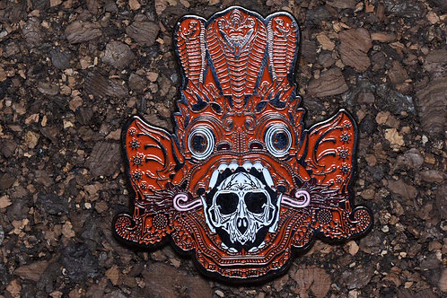 Mugwort 'Bali Series' Mythical Guardian Pin