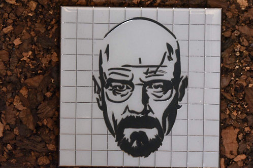 Walter White on White Pin