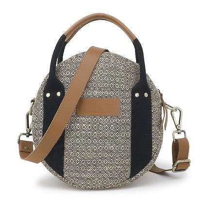 Jute Round Sling bag
