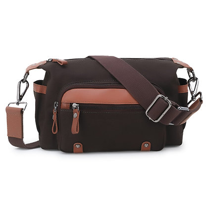 Canvas men's cool messenger bag