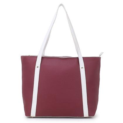 Women's classy maroon  handbag