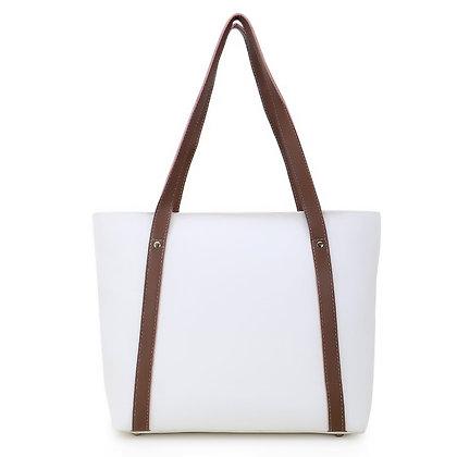 Women's classy white  handbag