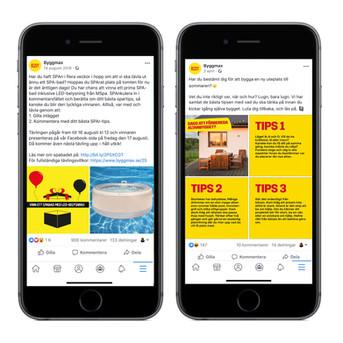 Copy till sociala medier
