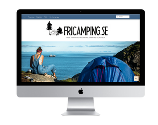 Fricamping.se Webdesign, redaktör & copy