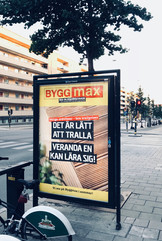 Copy till utomhuskampanj