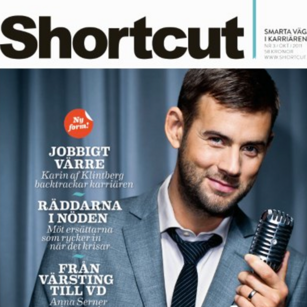 Layout/Styling omslag Shortcut magasin