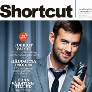Layout/Styling omslag Shortcut magasin