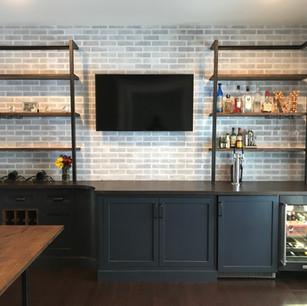 Custom Bar and Wine Storage
