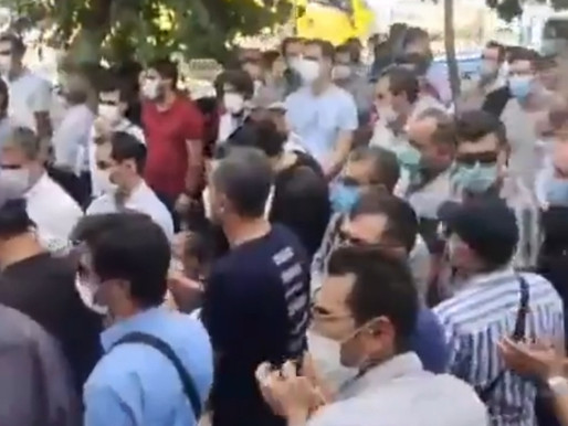 Ongoing Anti-Regime Protests In Iran