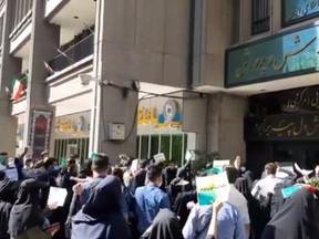 Anti-Regime Rallies In Iran