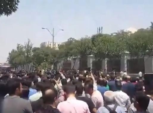 Ongoing Pro-Pahlavi Slogans