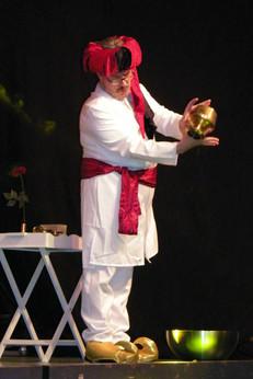 Jacques Albert en représentation Ali Babouin