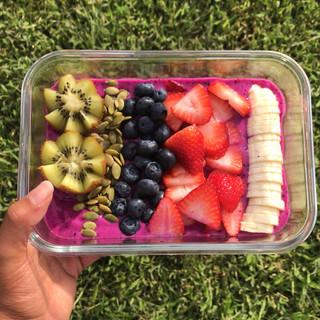 Pitaya fruit bowl!