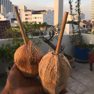 Sunsets & coconuts!