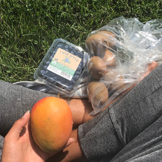 Snack at the park!