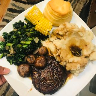 Portobello steaks!?