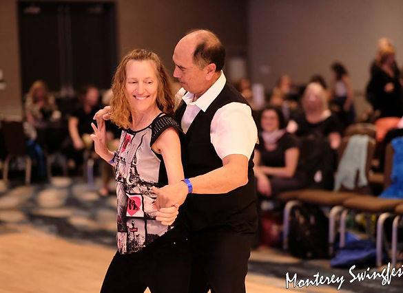 2018-01-12 Carole dancing with David Mon